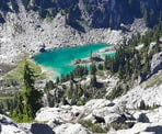 A view of Watersprite Lake from the Demon Ridge Trail. Photo courtesy of Bill Mauer