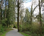The historic Fort to Fort Trail in Fort Langley