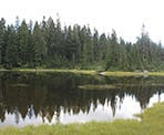 Goldie Lake near Mount Seymour