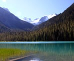 The short walk to Lower Joffre Lake and the incredible view