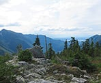 A view looking towards Vancouver from the Paton Peak Trail