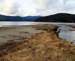 A view of the Sechelt Inlet from the estuary at Porpoise Bay Provincial Park