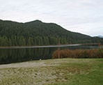 A view of Rolley Lake near Mission, BC