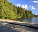 White Pine Beach at Sasamat Lake