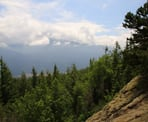 A view looking east from the area near the top of Vedder Mountain in Chilliwack