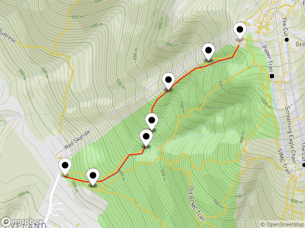 Grouse Grind Map