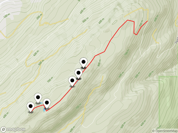 Vedder Ridge Trail Map
