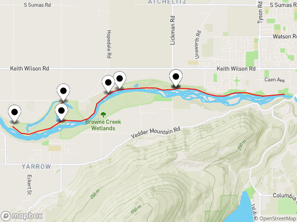 Vedder River Rotary Trail Map