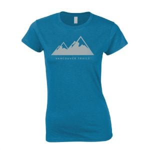 Vancouver Trails Women's T-Shirt Antique Sapphire