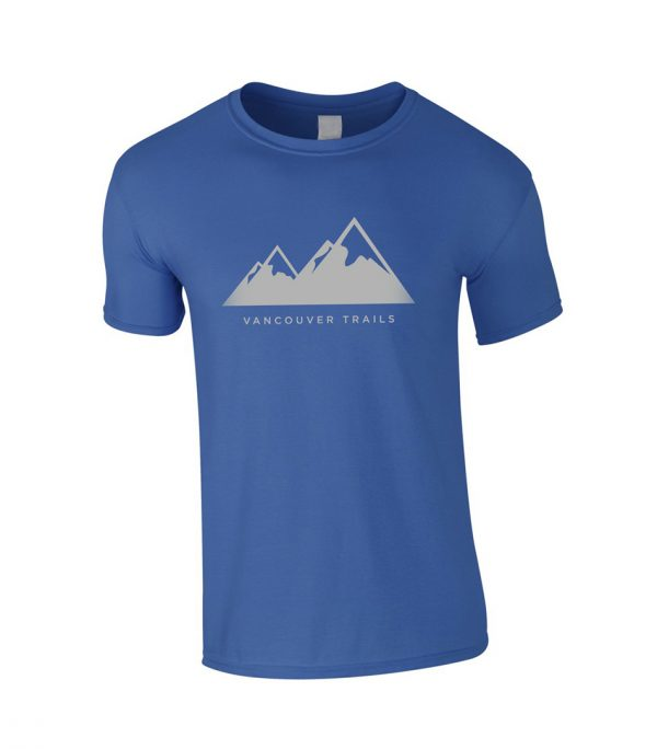 Vancouver Trails Men's T-Shirt Royal Blue